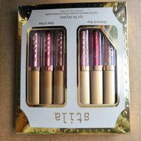 6 Colores Stila Eye For Elegance Maquillaje Edición Limitada Líquido Sombra de Ojos Set Cosméticos color tierra Sombra de Ojos set de maquillaje