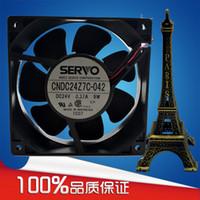 도매 새로운 원래 SERVO CNDC24Z7C-042 24V 9W 120 * 120 * 38 냉각 팬