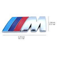 20 조각 자동차 액세서리 엠블럼 BMW M-POWER /// M-POWER BADGE 엠블럼 스티커 메탈 로고 스티커