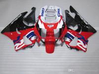 ZXMOTOR Carenados de venta caliente para Honda CBR900RR CBR 893 1995 1997 kit de carenado rojo blanco negro CBR893 95 97 HF33