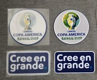 2019 Copa america brasil Patch Conmebol Soccer Patch Heat Tr...