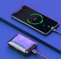 F9 TWS Bluetooth V5.0 siri écouteurs sans fil écouteurs Casque VS B10 TWS 1 avec Powerbank pour iphone x 11 Samsung s10