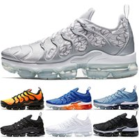 Nike Air Vapormax TN Plus TN Plus Sneaker Uomo Donna Scarpe da corsa Sunset Triple Nero Bianco Argento Patterns Gioco Royal Work Blue Sneaker da allenamento Hyper Violet Trainer