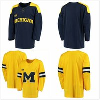 a4678b2be Michigan University   19 Dylan Larkin 43 Quinn Hughes Hockey jersey  Embroider stitching Customized Any Name And Number Jerseys. US  40.68    Piece. New ...