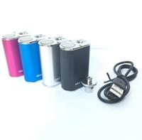 Eleaf Mini Istick 10W batería 1050mAh vv baterías 4colors 510 hilo vape mod con cargador USB Ego Conectores vs Eleafistick 20W 30W