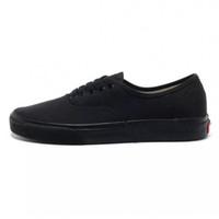 뜨거운 판매 - hentic 스케이트 신발 신 안개 시대 (95 개) 검정, 흰색 vanz 오래된 Skool 남여 캔버스 신발의 두려움