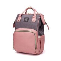 الأزياء أكياس مومياء الأمومة الحفاض حفاضات الطفل قدرة كبيرة حقيبة السفر التخزين حفاضات حقيبة التمريض حقيبة رعاية الطفل مجانية