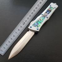 Hochwertige BM D2 Auto Jagd Klappmesser Luftfahrt-Aluminium Mosaik Shell taktisches Messer Outdoor-Camping-MT-Taschen-Überlebens-Messer Griff