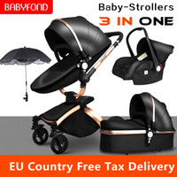 Multi- functional Luxury Baby stroller 4 in 1 High landscape ...