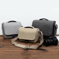 Impermeabile Digital SLR / DSLR compatta spalla della macchina fotografica del sacchetto di corsa SLR Gadget Bag per Sony Nikon Canon