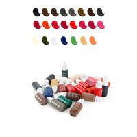 23 renk 15ml / şişe dövme mürekkebi siyah pigment sürekli makyaj kolay mikro pigment kaş göz kalemi Ağız, güzellik aracı boya