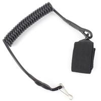 Cuerda de resorte táctica al aire libre Hebilla Cadena dominante Cordón de seguridad Mosquetón Correa Cordón X305