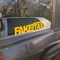 2 قطع تاكسي وهمية مضحك سيارة عاكسة winsowe صائق CA-479