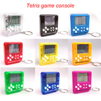 Mini Klasik Oyun Makinesi Çocuk El Retro Nostaljik Mini Oyun Konsolu ile Anahtarlık Tetris Video Oyunları Klasik Oyunlar