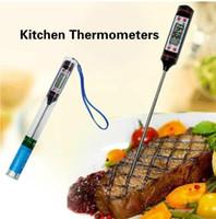 식품 프로브 BBQ 전기 오븐 온도계 주방 도구 조리 디지털 주방 온도계 고기 물 우유