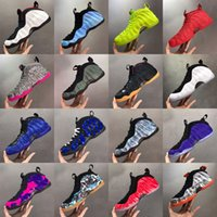 Penny Hardaway zapatos de baloncesto de la espuma Tamaño Posite Pro Galaxy Rosa Negro para hombre azul real Cny floral Fleece Habanero Deportes zapatillas de deporte 40-47