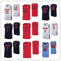 Hommes Dayton Flyers de basket-ball Jersey 1 Obi Toppin 3 Trey Landers 2 Ibi Watson 40 Johnson 0 Rodney Chatman NCAA personnalisés tout nom Cousu