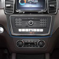 Car Center Console Climatisation Panneau CD décoration autocollant pour Mercedes Benz Garniture ML x166 GLE W166 GL GLS