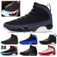 Nike Air Jordan retro 9  men basketball shoes Racer Blue UNC gym Red Bream it do it black blue Release Breed Sport sneakers