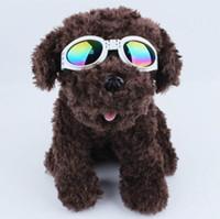 أزياء الكلب نظارات طوي نظارات متوسطة كبيرة الكلب نظارات كبيرة pet ماء نظارات نظارات حماية نظارات uv 6 ألوان dhl