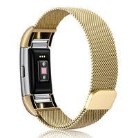 Wholesale Stainless Steel Magnetic Milanese Loop Band for Fi...