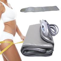 Dispositivo elétrico Far Infrared Aquecimento Hot Compress emagrecimento cinto Banda Beleza aptidão para braços cintura Bezerros Suporte Brace