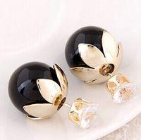 В продаже жемчуг серьги стержня для женщин элегантный pendientes 925 стерлингового серебра серьги Fahion ювелирные изделия Серьги конфеты