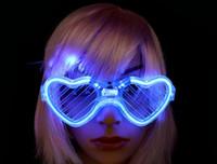 감기 빛 셔터 안경 빛나는 차가운 빛 깜박이 안경 LED 조명 빛나는 안경 할로윈 크리스마스 파티 용품