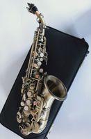 Bronzo Yanagisawa S-992 Sassofono Soprano curvo Bb Tune strumento di musica Sax con boccaglio professionale Grado