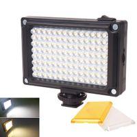 Hızlı Led Panel ışık Şarjlı 96 LED Video Işık Lambası Studio Fotoğraf aydınlatma Düğün Doldurmali Işık aksiyon kamera dijital kamera için