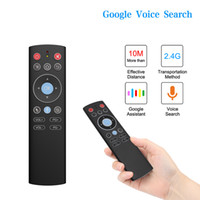 T1 W0118 Mini 2.4G Wireless Air Mouse Voice Control Gyro IR remoto Per X88 PRO H96 HK1 T95 MAX Q Inoltre TX6 TV BOX GooglePlay Conservare Youtube