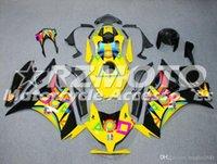 Molde de inyección de nuevos ABS carenados completos kits aptos para Honda CBR1000RR 2012 2013 2014 2015 2016 Carrocería conjunto personalizado gratuito Negro Amarillo