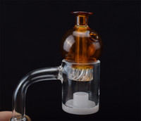4mm Thick Bottom Quartz Core Reactor Banger with Spinning Ca...