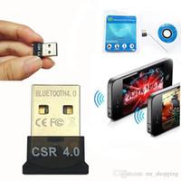 MINI USB محول بلوتوث 2.4mhz 3Mbps CSR 4.0 8510 A10 اللاسلكية دونغل الوصول CSR4.0 V4.0 لWin10 7 لان مع حزمة