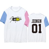 dea160903 New Arrival. Stray Kids KPOP T Shirt Women 2019 New Style Tee Shirt Femme  Vogue Minho Woojin Tshirt BangChan ChangBin Felix HyunJin