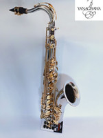 Yepyeni Tenor Sax Yanagisawa T-9930 Tenor Saksafon Müzik Aletleri Bb Ton Nikel Gümüş Kaplama Tüp Altın Anahtar Sax ile Vaka Mouthpiec