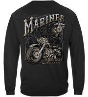 TSDFC морской пехоты T-Shirt USMC Marine Байкер American Clasic Футболка MM2143 унисекс мужчины женщины тенниска