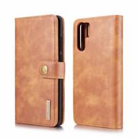 ДЕЦИГРАММ.Мин съемный кожаный чехол для Huawei P30 P20 Mate 20 pro case cover 2 в 1 флип бумажник телефон случаях shell