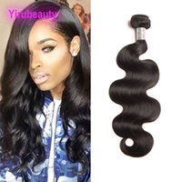 Indien Humain Hair Mink 9a Naturel Naturel Body Wave One Bundle Double Wefts One Ind Indian Human Cheveux Extensions