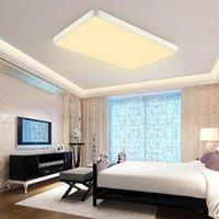 울트라 얇은 LED 천장 조명 침실 거실 조명 사각형 간단한 램프 현대 노르딕 레스토랑 통로 밤 빛