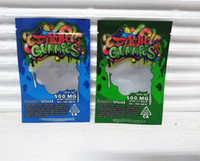 empty dank gummies bag 2020 new hottest edibles packaging ba...