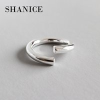 Shanice Charm Jewelry 925 Sterling Silver Open Ring For Wome...