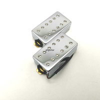 Rare хромированной крышки электрической гитара PICKUP двухрядной винтовой Humbucker 4C гитара Пикапы