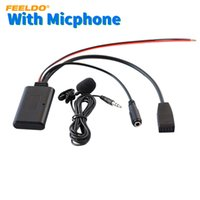 Feeldo Auto Audio Wireless 10Pin Bluetooth-Modul-Empfänger Aux Adapter für BMW E46 3-Serie CD-CD-Stereo-Radio-Bluetooth-Aux-Kabel # 6195