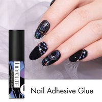 LILYCUTE 5ml Nail Adhesive Glue Fast-dry for Nail Foil Transfer Sticker Decals Paper DIY Art Decorations Glue Tools