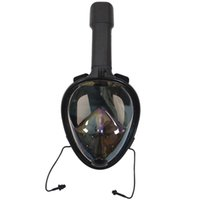 Máscaras completa Rosto snorkel Vista Panorâmica Anti-fog Anti-Leak Natação Snorkel Mergulho Underwater Máscara de Mergulho Compatível