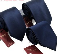8 cm 8 stijlen Heren Solid Dark Blue Color Neck Tie 6 cm Waterdichte Jacquard Stropdas Dagelijkse Draag Cravat Bruiloft voor mannen