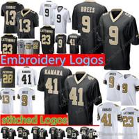 New Arrival. New Orleans Saints 9 Drew Brees 41 Alvin Kamara Jersey Men s  13 Michael Thomas 23 Marshon Lattimore ... 57b11980a