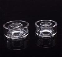 Hybird remplacement des ongles titane 100% réel vaisselle Quartz plats Quartz de haute qualité pour Dnail Oil Rig Enail Bongs Quartz plat Replaceable