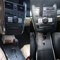 Para fibra de carbono Nissan Teana J31 autoadesivo adesivos de carro 3D 5D vinil Adesivos de carro e decalques Car Styling Acessórios